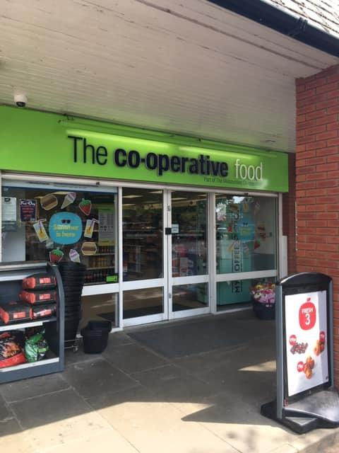 The Co-operative on Davies Road where staff were threatened in a robbery