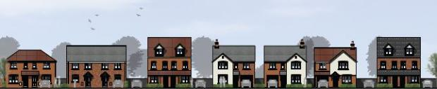 Evesham Journal: How the new homes will look. Images courtesy of Persimmon Homes