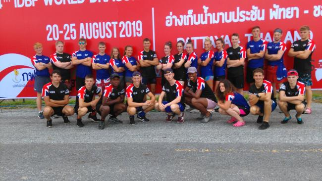 The under 18s racers in Thailand
