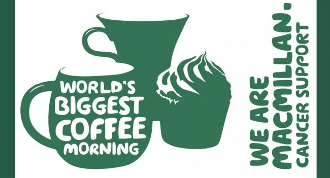 COFFEE: Macmillan Cancer Support's World Biggest Coffee Morning