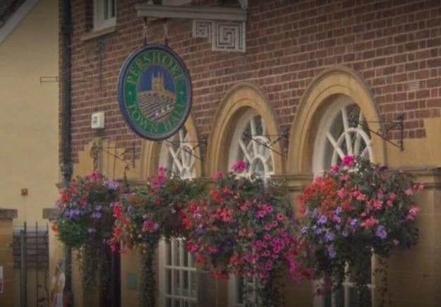 Pershore Town Council meets at the town hall