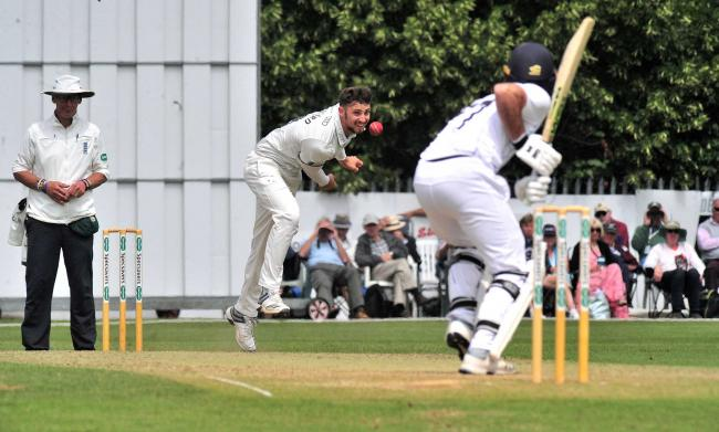 Ed Barnard took six wickets in Gloucestershire's first innings. Picture: JONATHAN BARRY