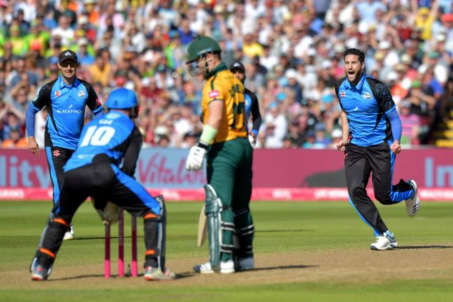 Wayne Parnell (right). Picture: ANTHONY DEVLIN/PA WIRE