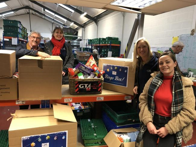GIFT: ISO at the foodbank