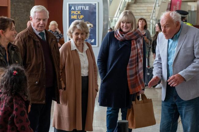 Members of the Last Tango In Halifax cast