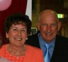 Peter and Yvonne Leckie