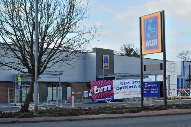 RECALL: The Aldi store in Bath Road, Worcester