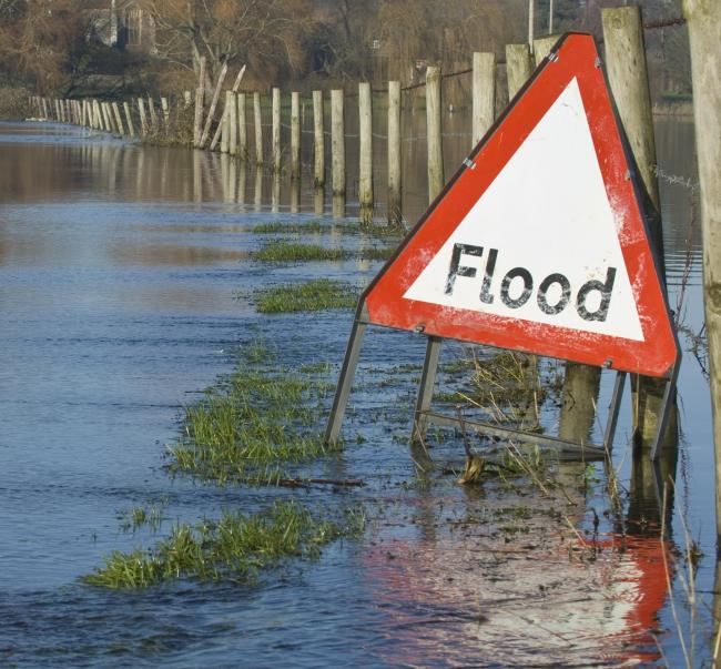 Flood warning in place for rivers south of Redditch