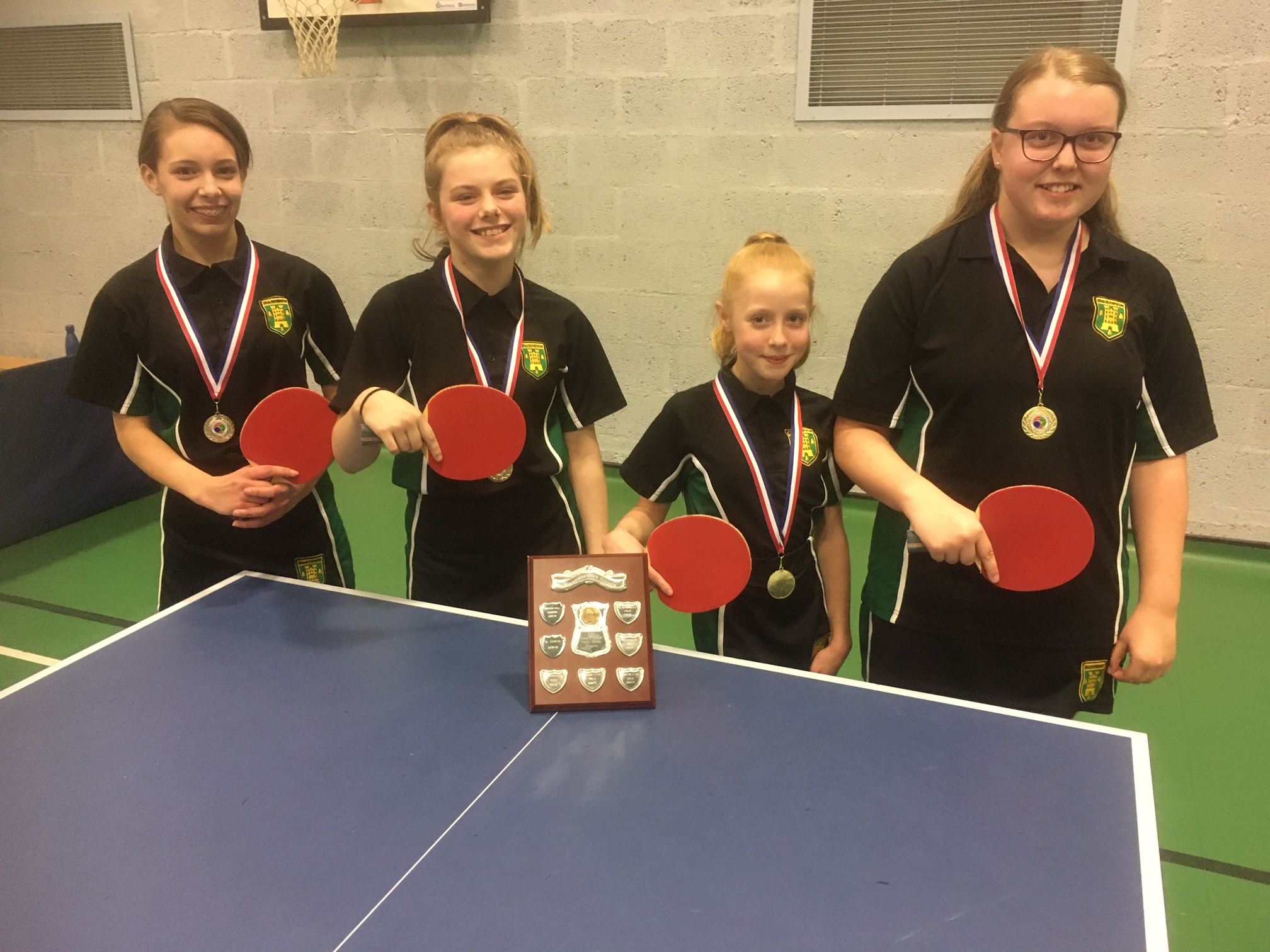 Table tennis: Blackminster Middle and St Nicholas Middle star - Evesham Journal