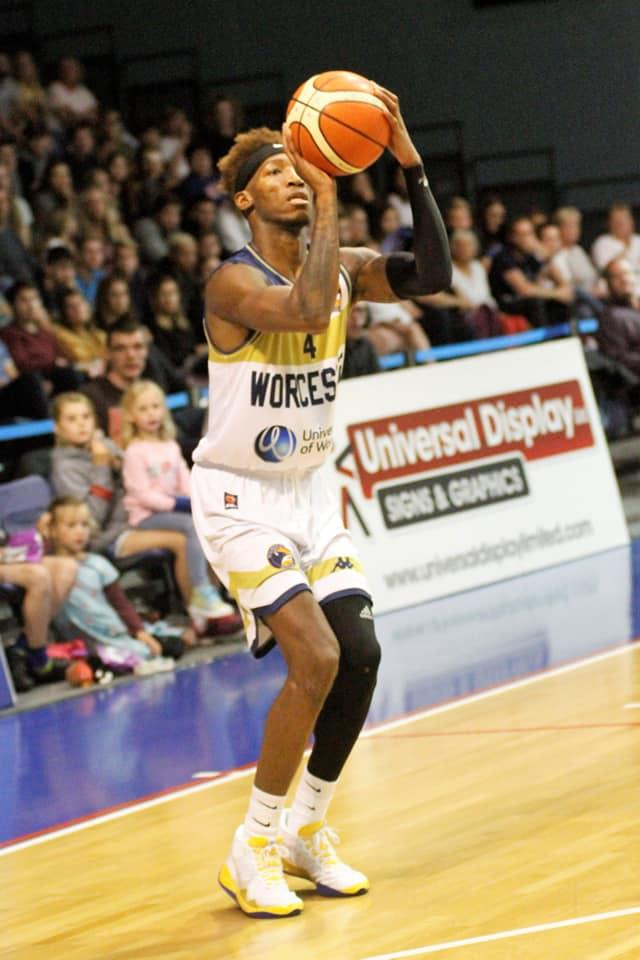 Worcester Wolves guard Kofi Josephs. Picture: KEITH HUNT