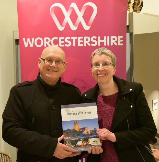 Journalists write new guide to Worcestershire