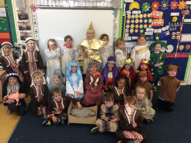 Cropthorne With Charlton Cofe First School was a semi-finalist in Virgin Media's national competition to find the UK's best primary school Christmas play