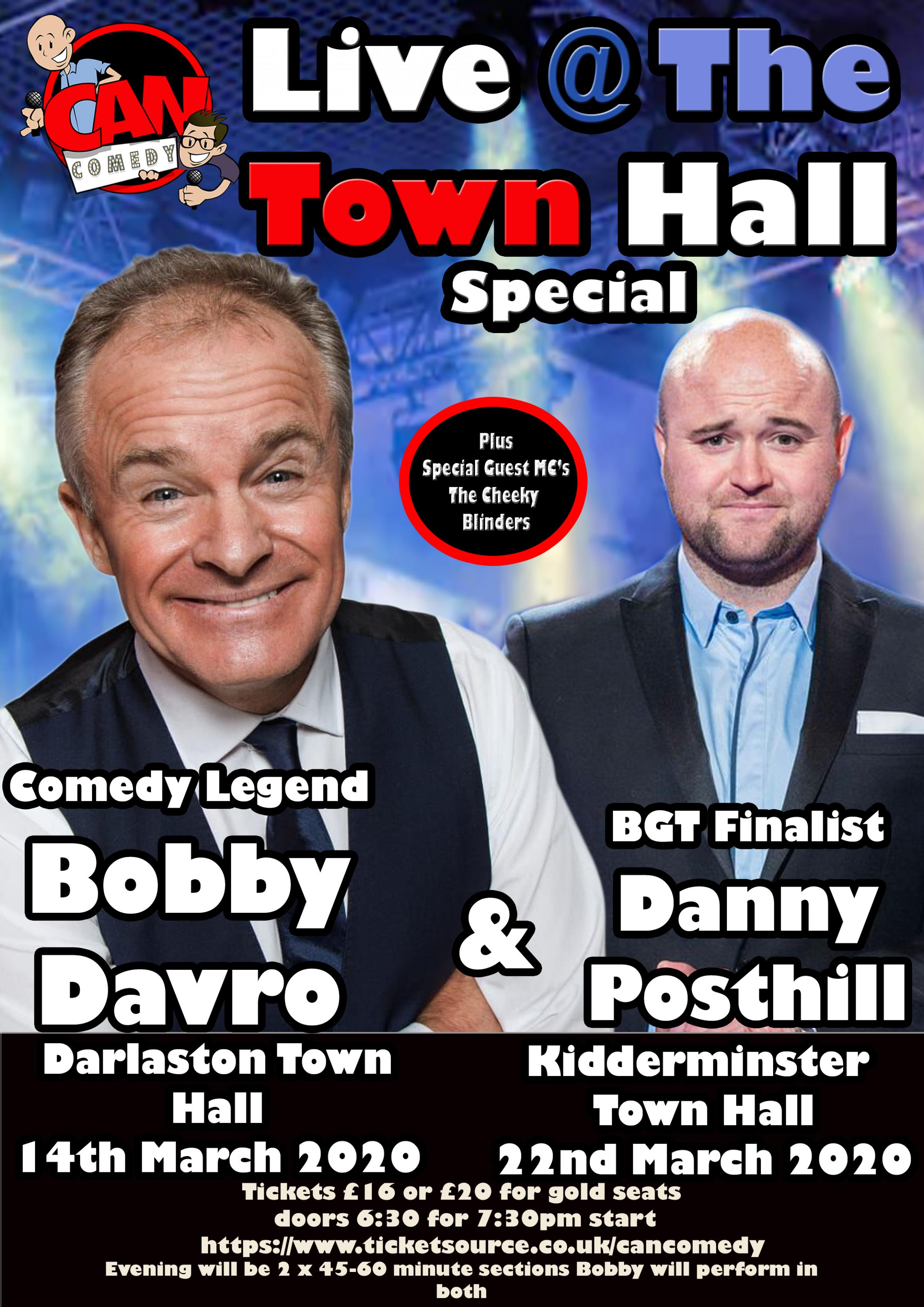 Bobby Davro Live at The Town Hall