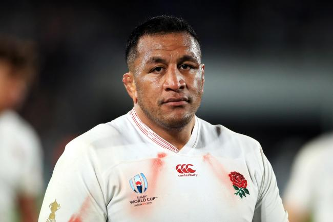 Mako Vunipola in action during last year's World Cup