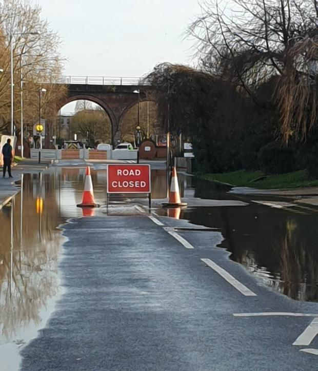 HYLTON Road is closed