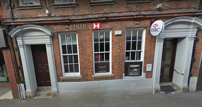 HSBC Evesham, closed currently