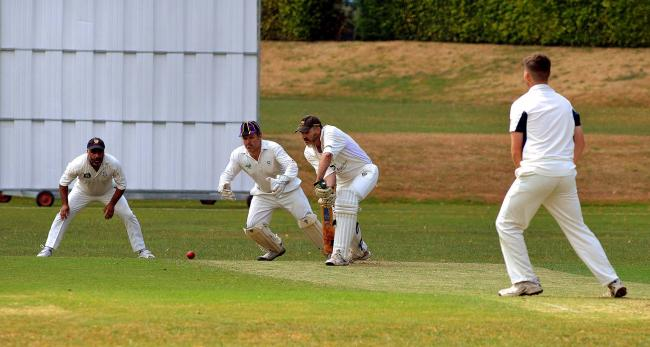 Action from the Worcestershire County Cricket League. Picture: JOHN ANYON