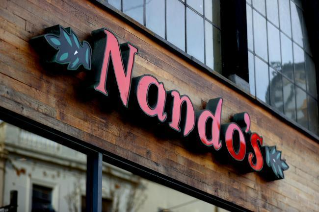 Here's where Nando's have reopened for takeout and delivery. Picture: PA Wire