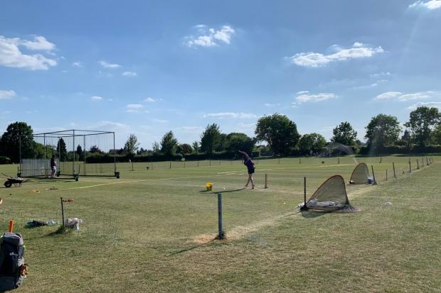 NETS: Droitwich cricketers return to the nets after restrictions were lifted