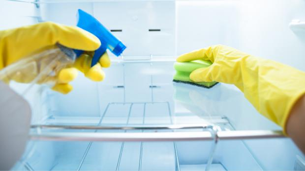 Evesham Journal: It's recommended to deep clean your fridge once a month. Credit: Getty Images / Andrey Popov