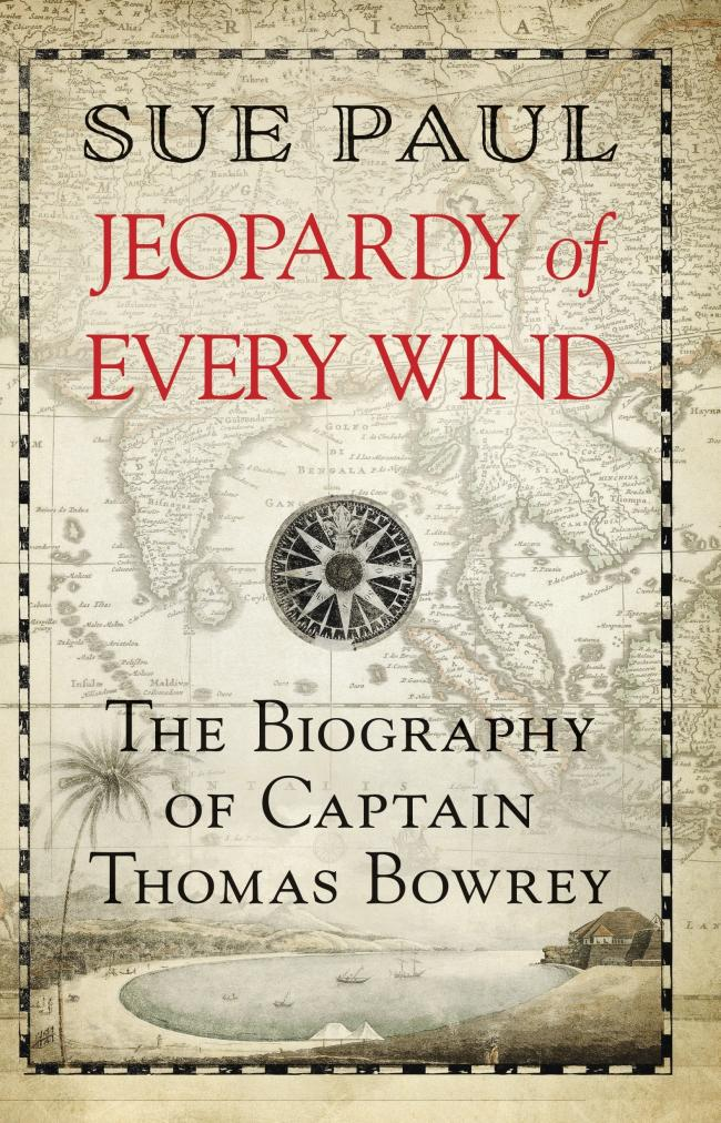 BIOGRAPHY: Jeopardy of Every Wind is the new book from Sue Paul