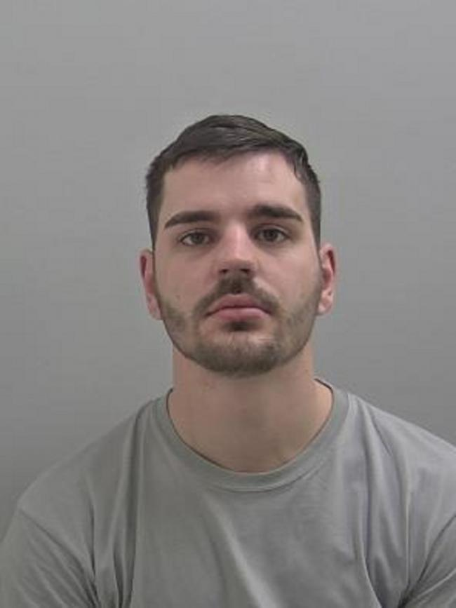 GUILTY: Kyle Hutchison. Photo West Mercia Police