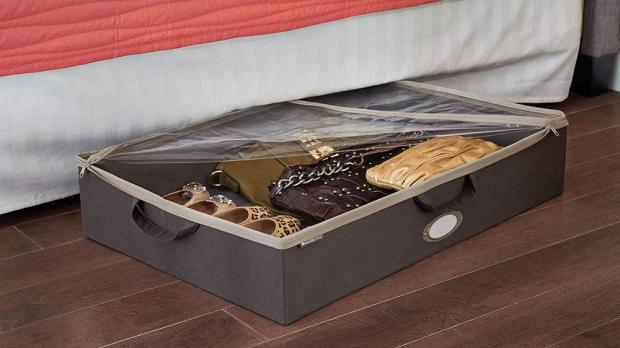 Evesham Journal: Under-bed storage is ideal for homes with limited space. Credit: ClosetMaid