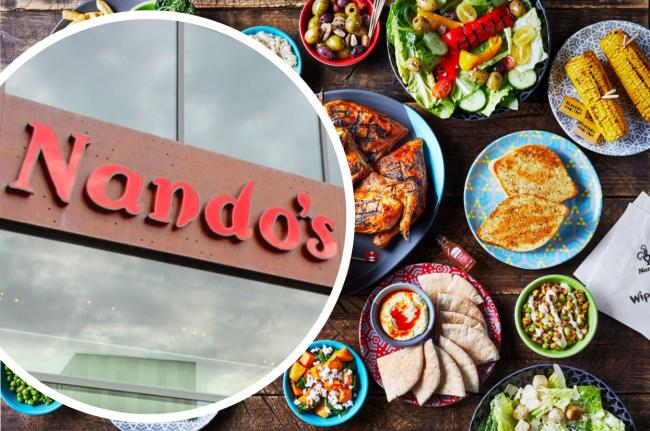 Nando's issue important update on different restaurant rules for Tiers 1, 2 and 3 across England. Picture: Nando's/Newsquest