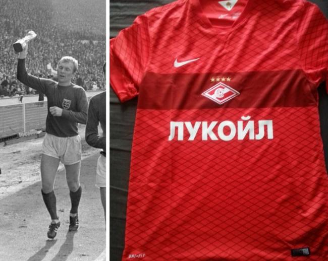 SHIRTS: I am wearing my Spartak Moscow shirt today for Football Shirt Friday