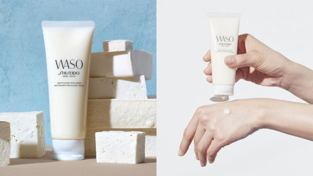 Evesham Journal: Exfoliate your skin with the Shiseido Waso: Soft & Cushy Polishing Exfoliator. Credit: Shiseido