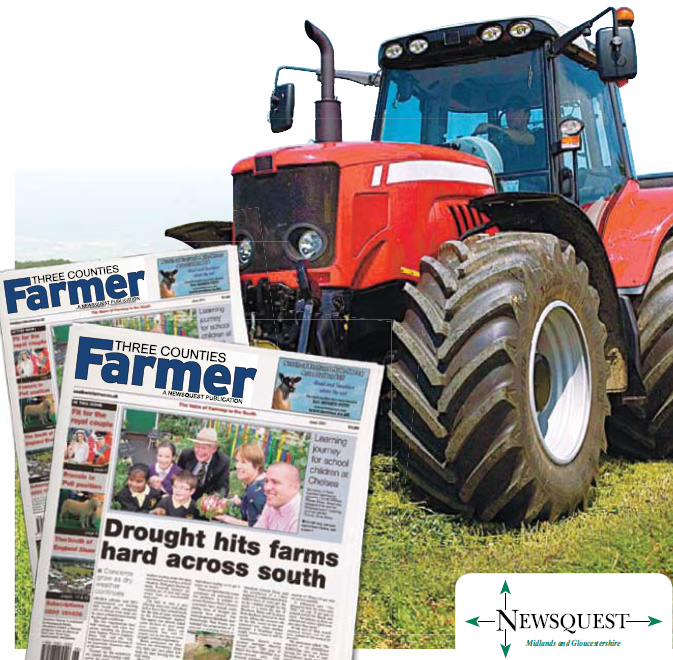 Evesham Journal: tractor
