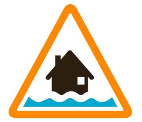 No floods have been reported but flood alerts are in place