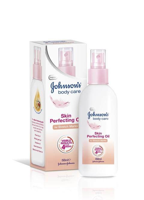 PERFECTION: Johnson's Skin Perfecting Oil for stretch marks, £9.99 (Boots).
