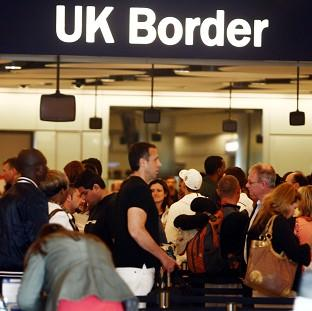 The Border Force is 'fully prepared for the busy Olympic period', a spokeswoman said