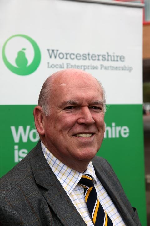 Evesham Journal: Peter Pawsey, from Worcestershire's Local Enterprise Partnership
