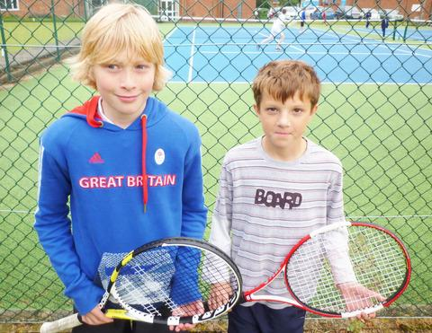 LOSING DUO: Littletons' Lewis Osbourne and Craig Witheford suffered defeats.