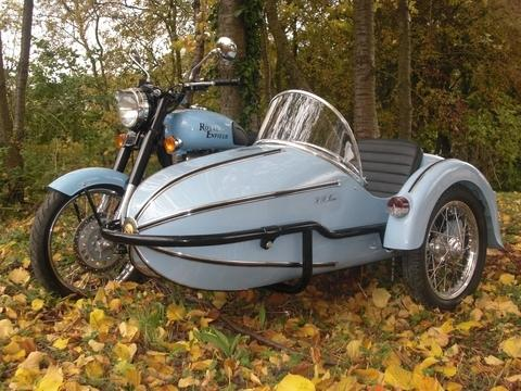 This motorcycle sidecar was made in the Cotswolds and featured in Harry Potter and the Deathly Hallows.