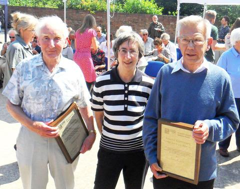Volunteers honoured