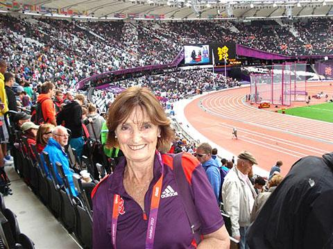 UNFORGETTABLE: Ruth Bull will never forget her experiences at the London Olympics.