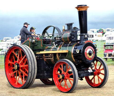 DOMINANT: A variety of steam tractors and engines were at the show, which saw record crowds on Saturday. 38135623