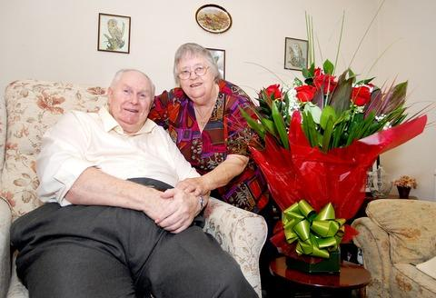 GOLDEN: Ronald and Ivy Gardiner have been married for 60 years
