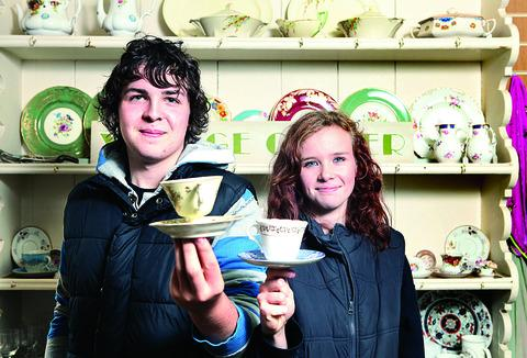 Castle china sales help youth