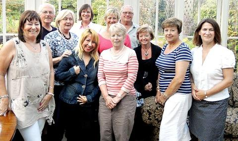 Some of the Hospice Neighbours ready to offer a helping hand to patients in Pershore.