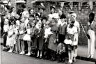 Sweets taken off rations as children marked Coronation