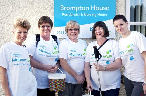 Care Home staff take steps for good cause
