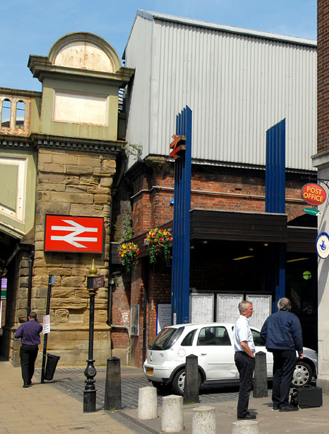 Foregate Street Station, in Worcester