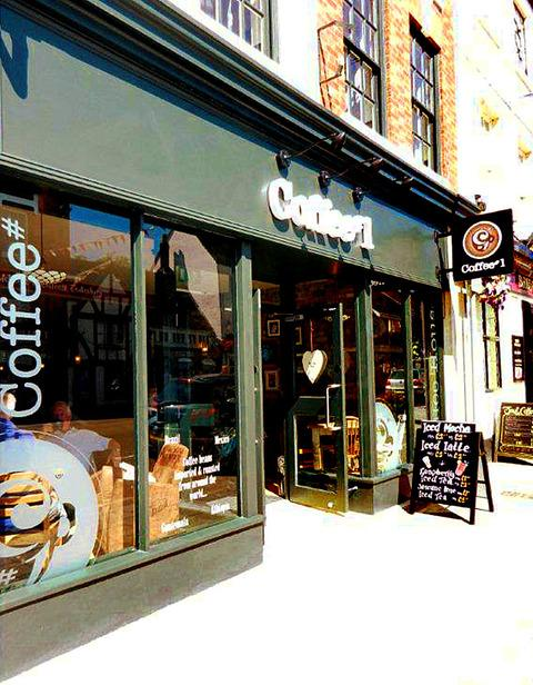 BREWING: Pictures supplied by Coffee #1 Limited showing how the proposed café at number 12 Pershore High Street could look.
