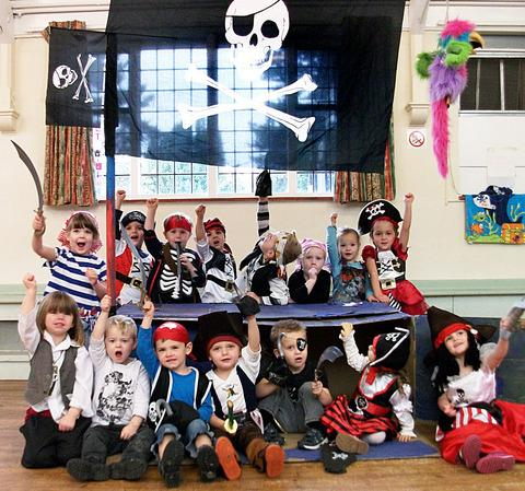 Who are the fiercest pirates on the seven seas? We arrrrrr!