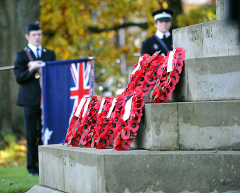 Lest we forget - county honours heroes