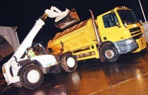 Gritters are on standby despite spring being around the corner